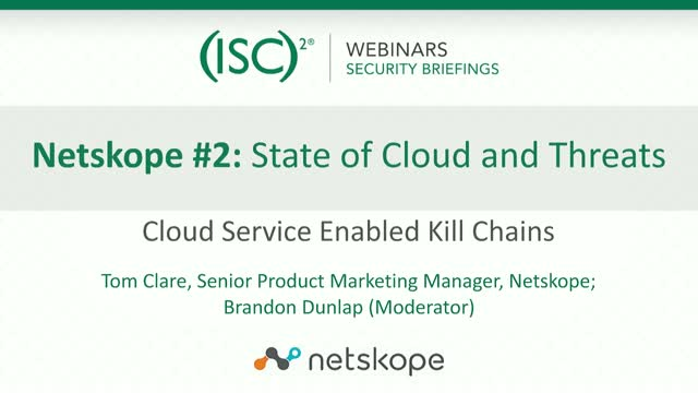 Netskope #2: State of Cloud and Threats