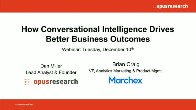 How Conversational Intelligence Drives Better Business Outcomes