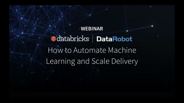 How to Automate Machine Learning and Scale Delivery