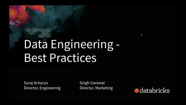 Data Engineering Best Practices