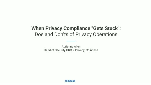 "When Privacy Compliance ""Gets Stuck"": Dos and Don'ts of Privacy Operations"