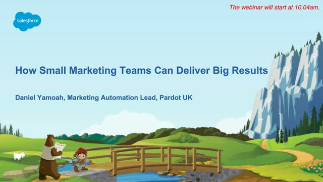 How Small Marketing Teams Can Deliver Big Results