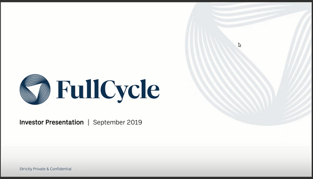 Fullcycle  - Private Equity to combat the Climate Crisis