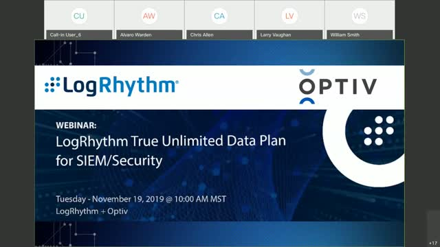 LogRhythm True Unlimited Data Plan for SIEM/Security