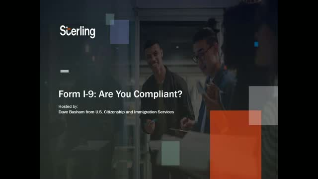 Form I-9: Are you compliant?
