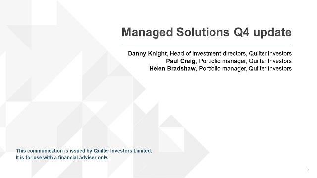 Q4 2019 Managed Solutions update
