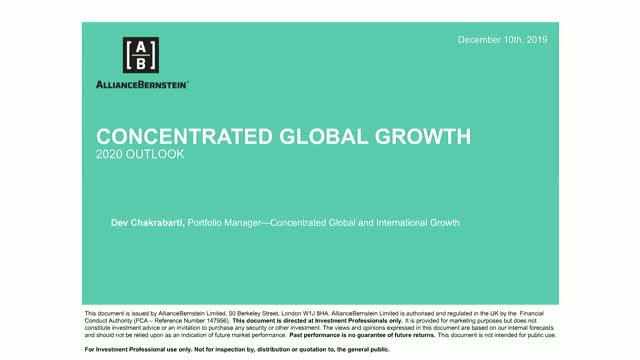 Global Equities 2020: Focus on quality amidst slowing growth