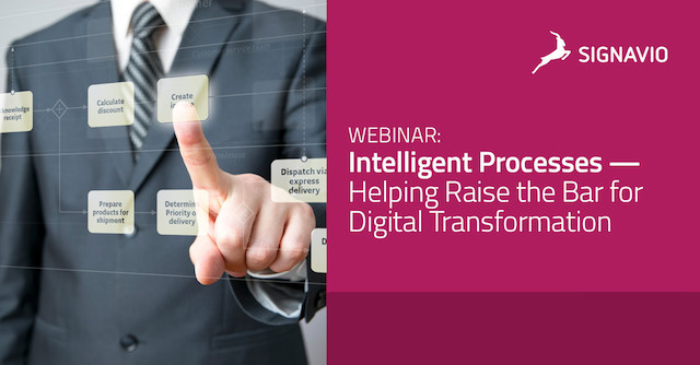 Intelligent Processes — Helping Raise the Bar for Digital Transformatio
