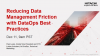 Reducing Data Management Challenges with DataOps Best Practices