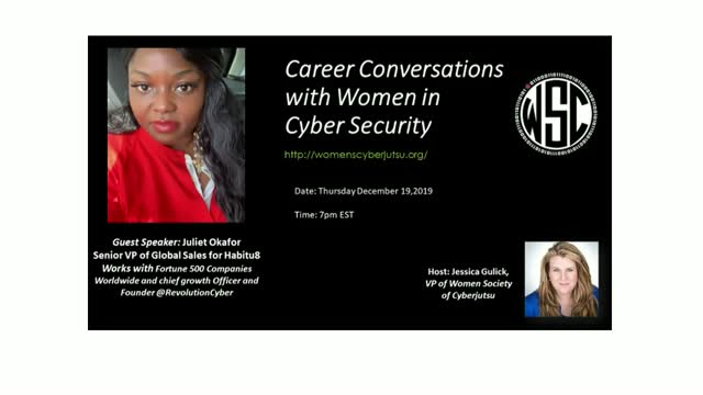 Career Conversation with Juliet Okafor