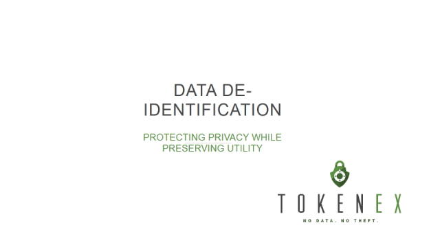 Data De-identification: Protecting Privacy While Preserving Utility