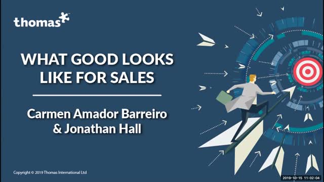 Replay: Good Looks Like for Sales