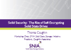 Solid Security: The Rise of Self Encrypted Solid State Drives