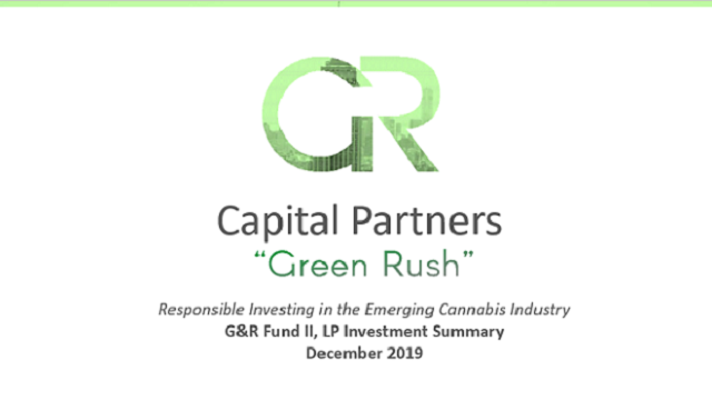 Responsible Investing in the Emerging Cannabis Industry 2.0
