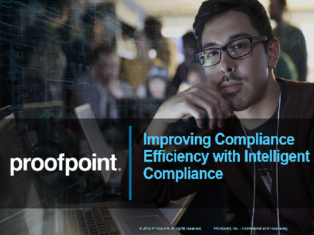 Improving Compliance Efficiency with Intelligent Compliance