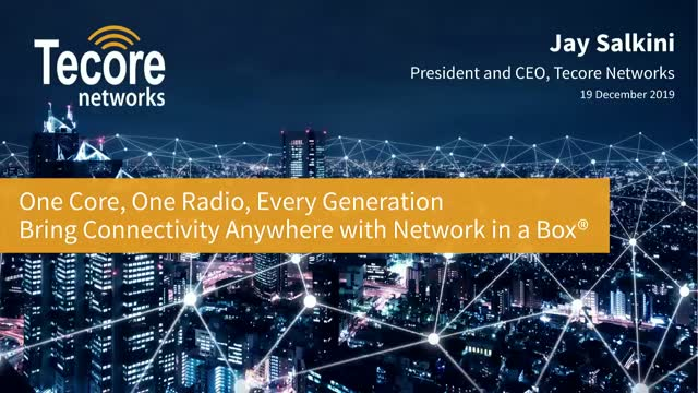 One Core, One Radio, Every Generation - Bring Connectivity Anywhere with NIB®