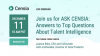ASK CENSIA: Answers to Top Questions about Talent Intelligence