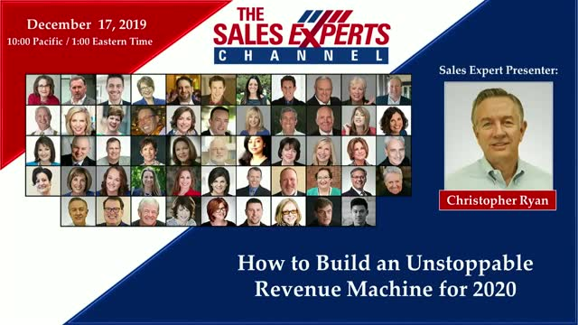 How to Build an Unstoppable Revenue Machine for 2020