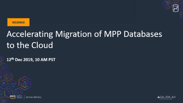 Accelerating Migration of MPP Databases to the Cloud