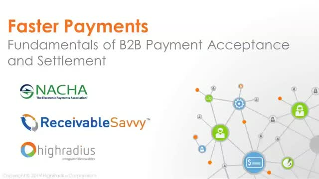 Faster Payments : Fundamentals of B2B Payment Acceptance and Settlement