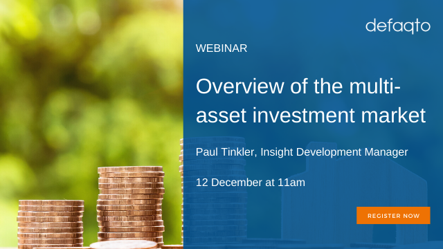 Overview of the multi-asset investment market