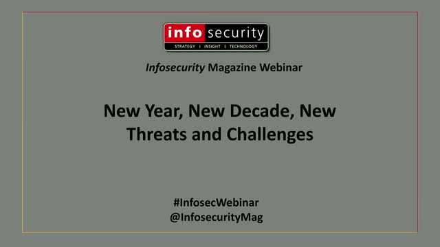 New Year, New Decade, New Threats and Challenges