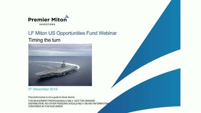 LF Miton US Opportunities Fund Webinar