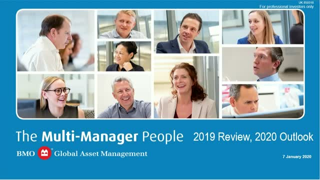 Multi-manager Review and Outlook Q1 2020 | BMO GAM