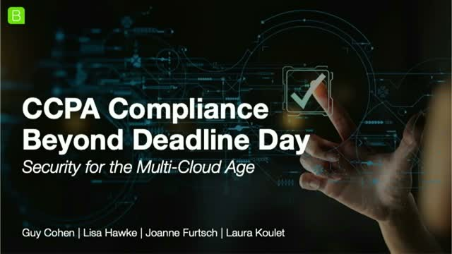 CCPA Compliance Beyond Deadline Day