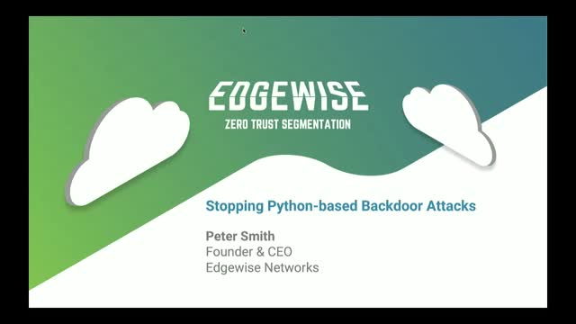 Stopping Python-based Backdoor Attacks: Edgewise