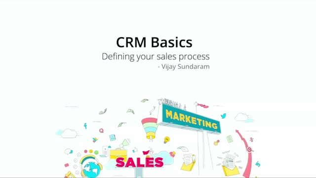 Video: (Zoho) Defining Your Sales Process