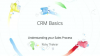 Zoho: CRM Basics: Understanding Your Sales Process