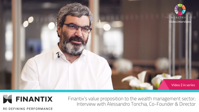 Finantix's value proposition to the wealth management sector
