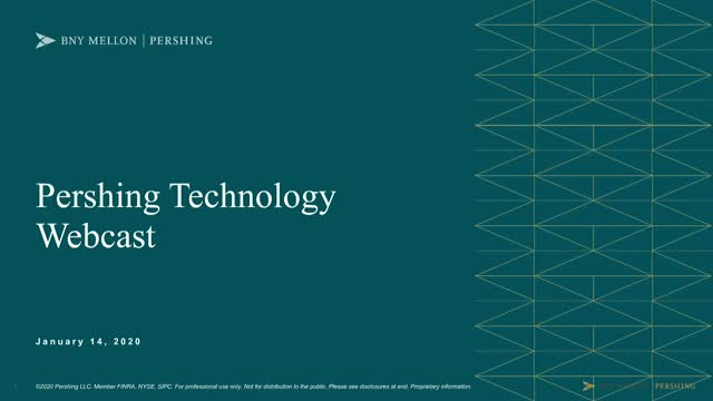Technology Webcast: 2020 State of Technology Update