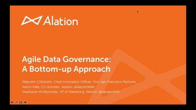 Agile Data Governance: a Bottom-up Approach