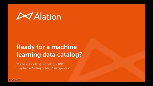 Ready for a Machine Learning Data Catalog?
