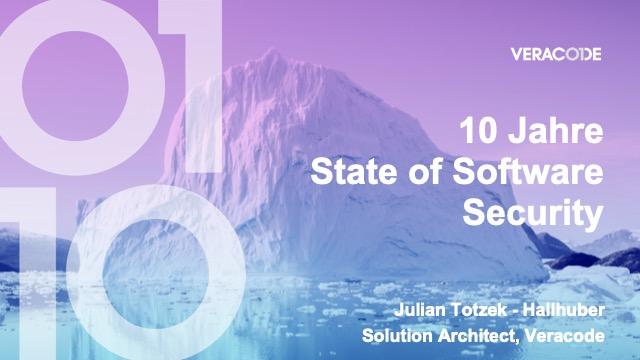 10 Jahre State of Software Security