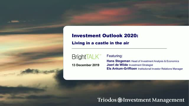 Investment Outlook 2020: Living in a castle in the air
