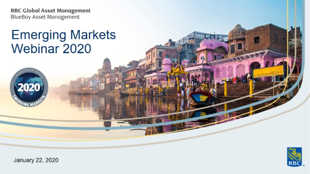 Emerging Markets Webinar 2020