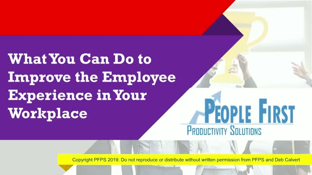 What You Can Do to Improve the Employee Experience in Your Workplace