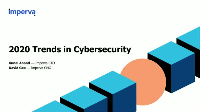 2020 Trends in Cybersecurity