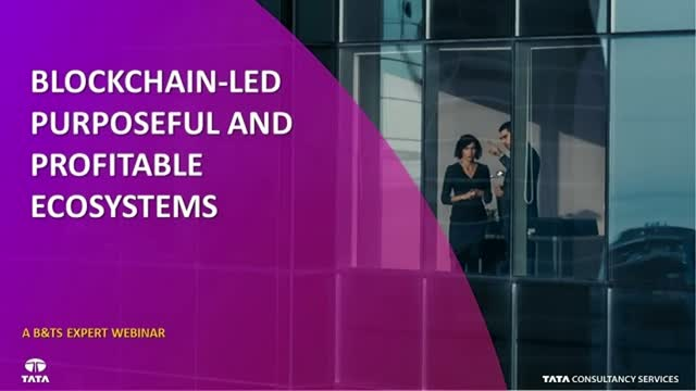 Blockchain-led purposeful and profitable ecosystems