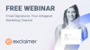 Email Signatures: Your Untapped Marketing Channel (10am GMT / 11am CET)