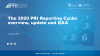 The 2020 PRI reporting cycle: overview, update and Q&A