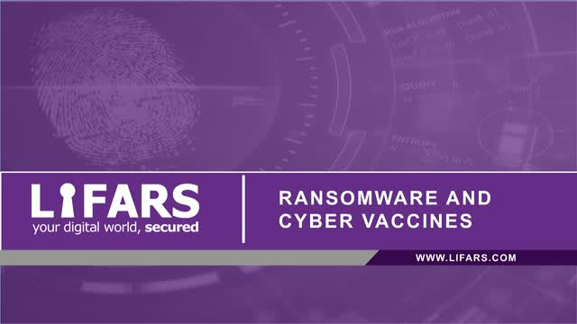 Ransomware and Cyber Vaccines