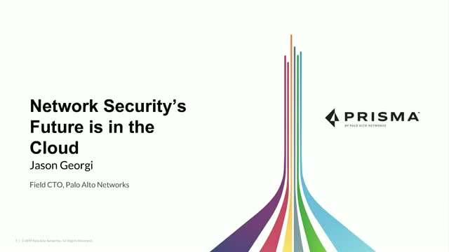[Cloud Security Alliance] Network Security's Future is in the Cloud