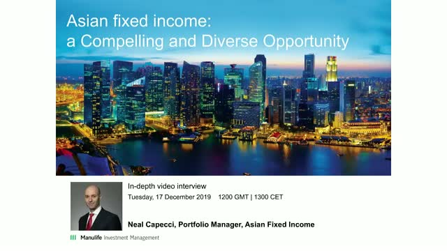 Live Video – Asian Fixed Income: a Vibrant and Diverse Opportunity