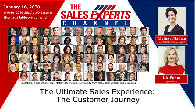 The Ultimate Sales Experience: The Customer Journey