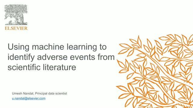 Using machine learning to identify adverse events from scientific literature