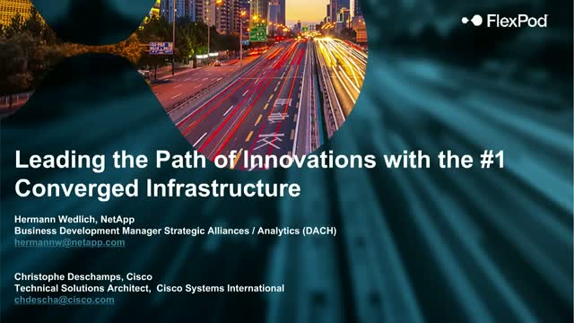 Leading the path of innovations with the #1 converged infrastructure